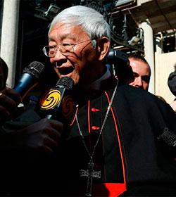 El cardenal Joseph Zen dispuesto a ir a la c�rcel para conseguir la libertad en Hong Kong