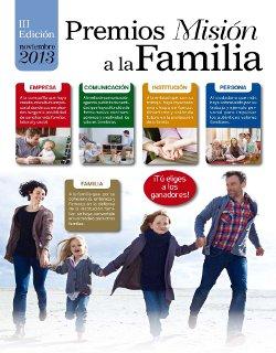 La revista Misión entrega los III Premios Misión a la Familia