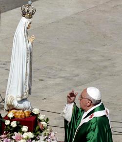 Consagración del mundo al Inmaculado Corazón de María por el Papa