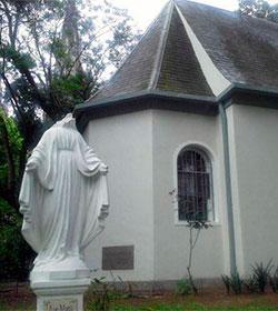 Decapitan una imagen de la Inmaculada Concepción en La Plata (Argentina)