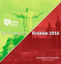 La JMJ de Cracovia se celebrará del 15 de julio al 1 de agosto del 2016