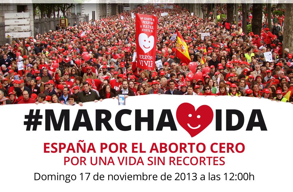España celebra hoy la Marcha por la Vida: ¡Ven, por Aborto Cero!