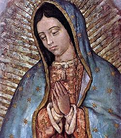El papa regala a la Virgen de Guadalupe una rosa de oro