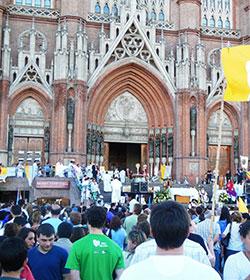 Argentina: masiva clausura del Año de la Fe en La Plata