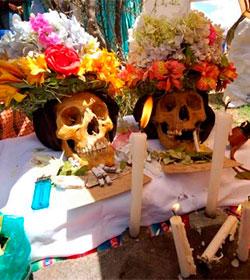 Crece en Bolivia el culto pagano a las calaveras de los antepasados