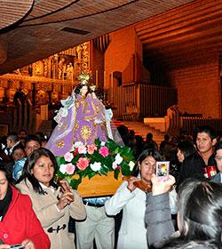 Encuentro de familias ecuatorianas en Torreciudad