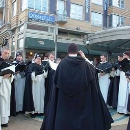 Dominicos de EE.UU salen a evangelizar en las calles de Washington cantando villancicos
