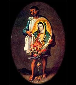 Juan Diego Cuauhtlatoatzin, Santo Vidente de la Virgen de Guadalupe