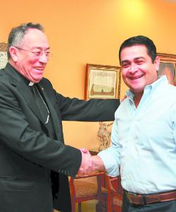 El presidente electo de Honduras pide a la Iglesia que participe en el gran pacto por la nación