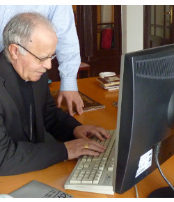 El obispo de Zamora entra oficialmente en Twitter