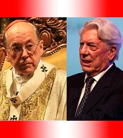 Cardenal Cipriani a Vargas Llosa: «procuro enseñar lo que me enseño la Iglesia y lo que procuro vivir»