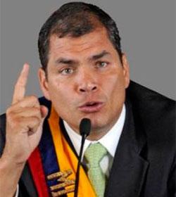 El presidente de Ecuador arremete contra la ideología de género y el aborto
