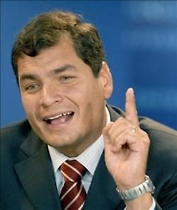 Jóvenes ecuatorianos piden al presidente Correa que vete un artículo que supone el coladero para practicar abortos