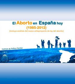 En 2012 se practicaron más de 112.000 abortos en España: 1 de cada 5 embarazos termina en aborto.