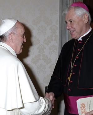 Papa Francisco: «la doctrina tiene como único objetivo servir a la vida del Pueblo de Dios»