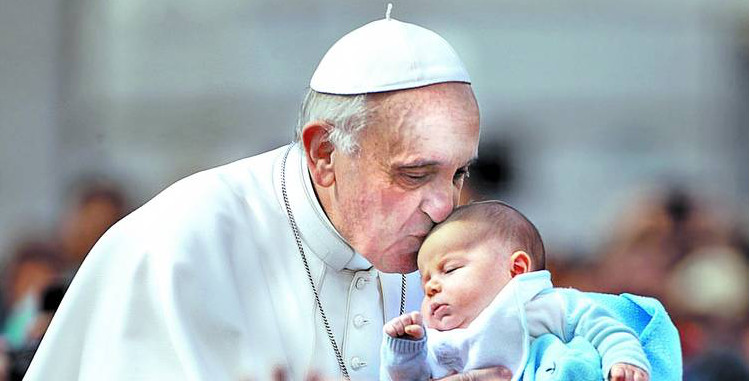 Papa Francisco: «Suscita horror sólo el pensar en los niños que no podrán ver nunca la luz, víctimas del aborto»