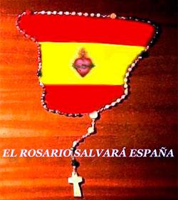 Alrededor de mil fieles católicos rezan el Rosario por España en veinticuatro localidades del país