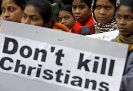 Cristianos de Sri Lanka se manifiestan para pedir protección y libertad religiosa