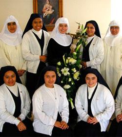 Unos 400 jóvenes entraron como novicios a alguna comunidad o congregación religiosa de España en 2013