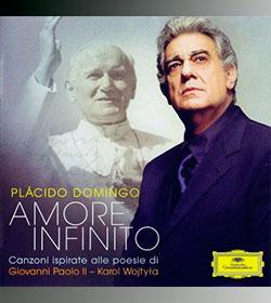 Plácido Domingo pone música a los poemas de Juan Pablo II