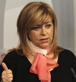 Elena Valenciano asegura que si el PSOE ganas las elecciones europeas, el gobierno del PP no reformará el aborto