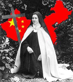 Aparecen reliquias de Santa Teresa de Lisieux en una diócesis de China