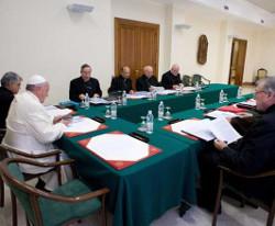 El Papa se reúne este lunes con el Consejo de Cardenales que le asesoran para la reforma de la Curia
