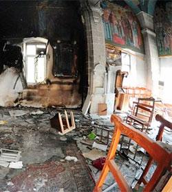 Siria: Dos jóvenes cristianos crucificados en Maaloula por los extremistas