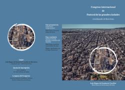 Barcelona acogerá este mes el Congreso internacional de Pastoral de las grandes ciudades