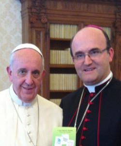 Mons. Munilla asegura que no le cabe «la menor duda» de que el Papa no apoya las tesis del cardenal Kasper