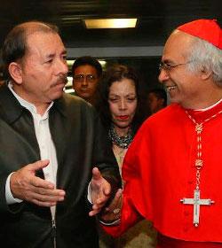 El cardenal Brenes vuelve a hacer un llamamiento al diálogo entre los partidos de Nicaragua