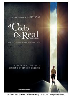 ¿Quieres una entrada para el preestreno de «El Cielo es Real»? ¡Participa!