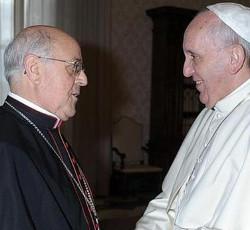 El Papa recibe en audiencia al Presidente de la Conferencia Episcopal Española
