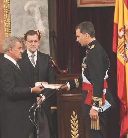 Felipe VI jura como nuevo Rey de España