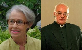 Anne-Marie Pelletier y Mons. Waldemar Chrostowski reciben el Premio Ratzinger 2014