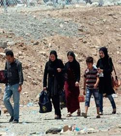 Éxodo de cristianos en Mosul, tras el avance yihadista