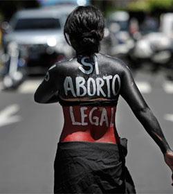 Las 17 de El Salvador: no es aborto, es infanticidio