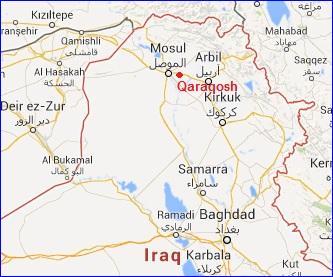 Cien mil cristianos huyen del norte de Irak ante el avance de los yihadistas