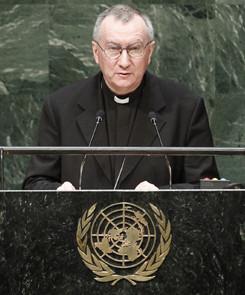 El cardenal Parolin pide a la ONU detener urgentemente a los yihadistas usando la fuerza