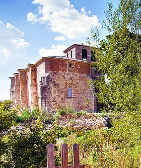 Un grupo de vándalos profana la iglesia de Santa Eulalia en la localidad burgalesa de Quintanilla Vivar