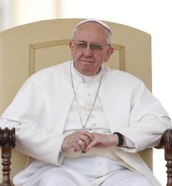 El Papa asegura que la Iglesia refleja la naturaleza de Cristo, humana y divina a la vez