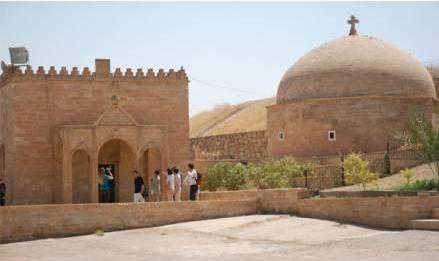 Los yihadistas profanan el Monasterio de Mar Behnam