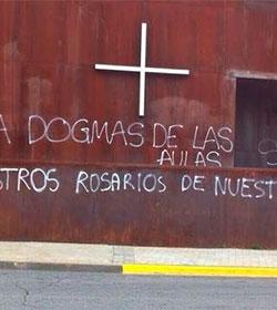 Persecución y hostigamiento en Rivas a un colegio católico