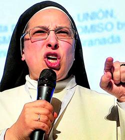 Lucía Caram, vetada por el Obispo de Teruel como pregonera de Semana Santa