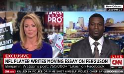 Avalancha de críticas a la CNN por cortar a un deportista que empezó a hablar de Cristo