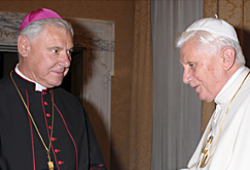 El cardenal Müller califica a Joseph Ratzinger como el «Mozart de la Teología»
