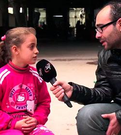 La respuesta de una niña cristiana al odio de ISIS conmueve a un reportero árabe
