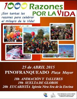 «1000 razones por la vida», suelta de globos en la diócesis de Coria-Cáceres