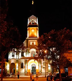 Roban la custodia con el Santísimo en una capilla de adoración perpetua en Aguilares