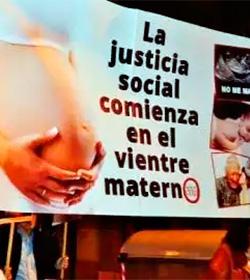 Marcha por la Vida mensual en Barcelona: Sin complejos porque la verdad está de nuestra parte